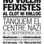 Cartell manifestació 5 maig