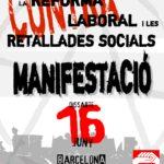 Cartell manifestació 16J Barcelona