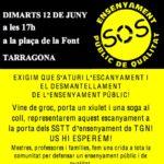 Xartell 12 juny Tarragona