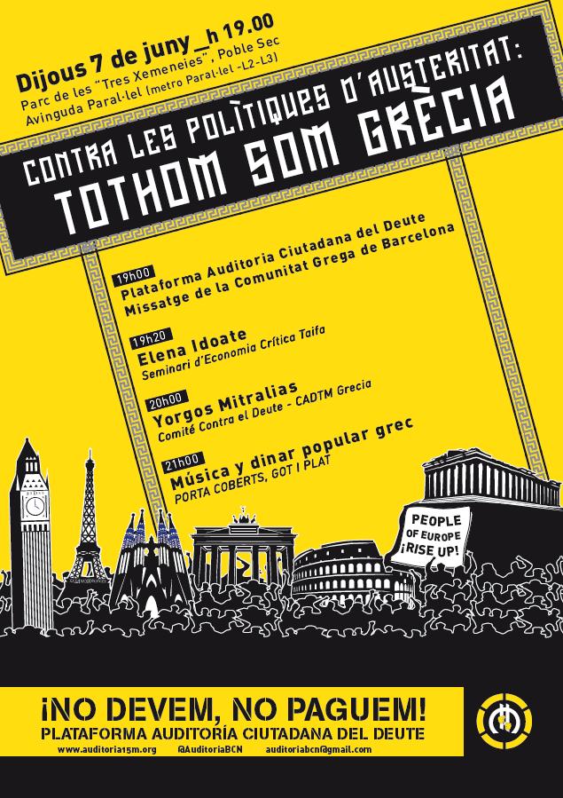 Cartell 7 juny Barcelona
