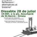 Cartell 28J a Girona