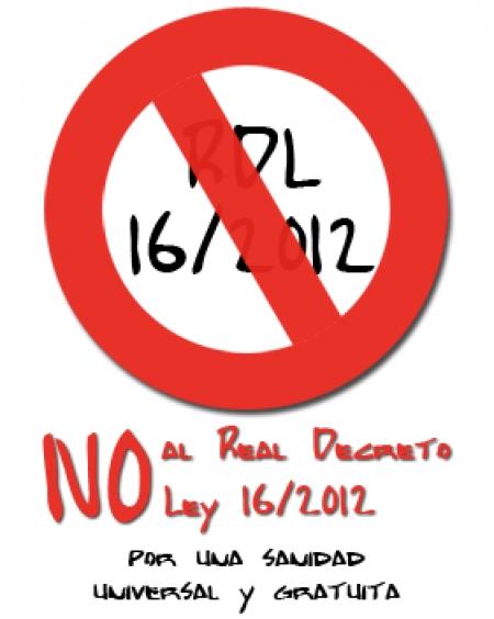 No al RD 16/2012