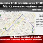 Cartell 17 setembre Barcelona