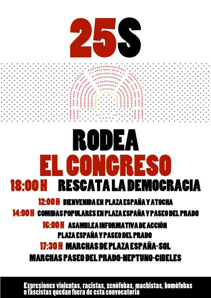25S a Madrid
