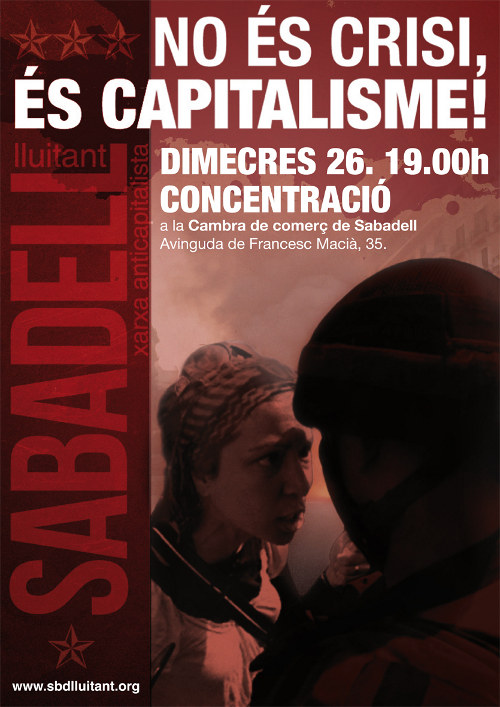 Cartell 26S Sabadell