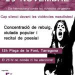 Cartell 25N Tarragona