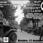 Cartell ruta anarquista Lleida
