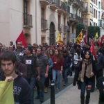 Manifestació 14N Reus 3
