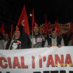 Manifestació 14N Tarragona