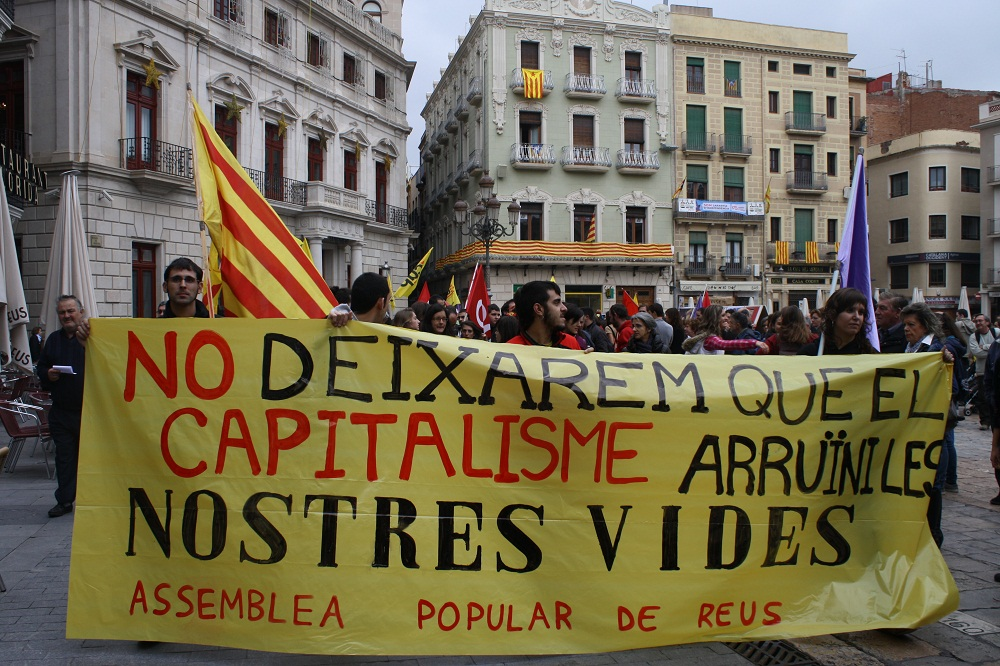 Manifestació 14N Reus