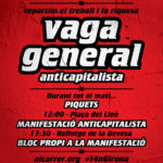 Cartell 14N a Girona