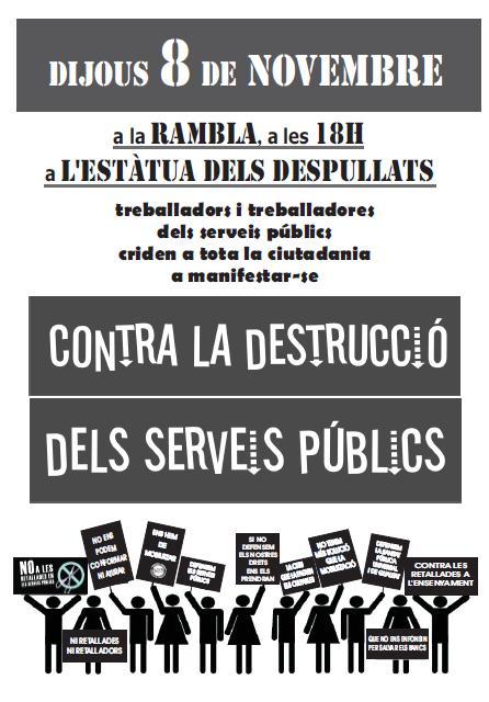 Cartell 8N Tarragona