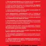 Decàleg 10 raons vaga general anticapitalista