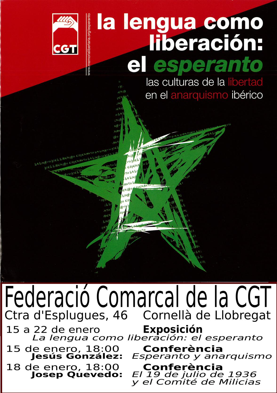 Cartell exposició Esperanto