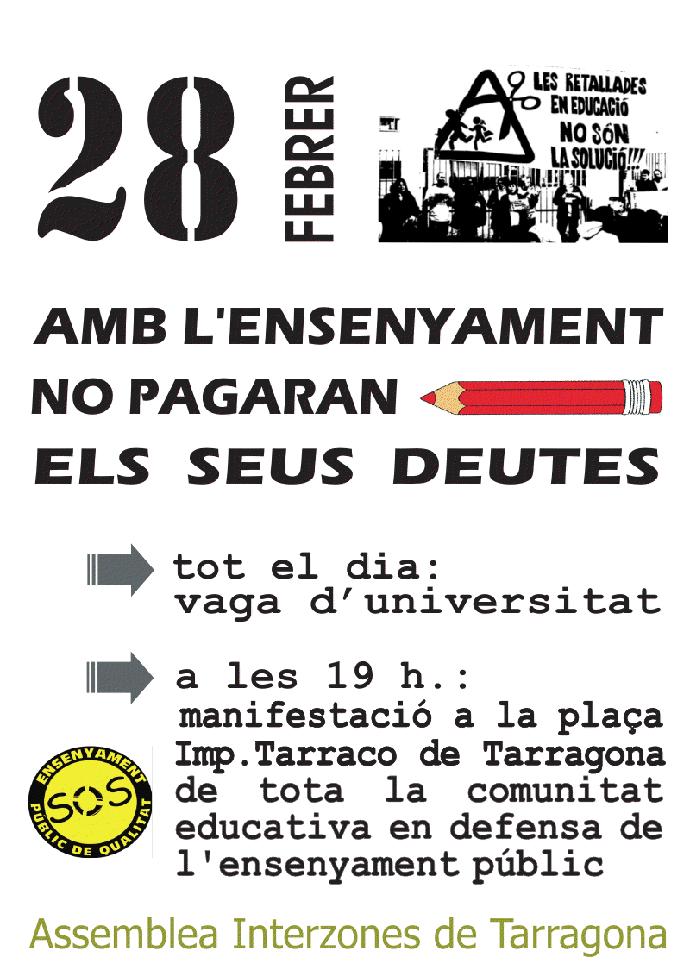 Cartell 28F Tarragona