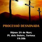 Processó de Desnonats i Desnonades a Tortosa