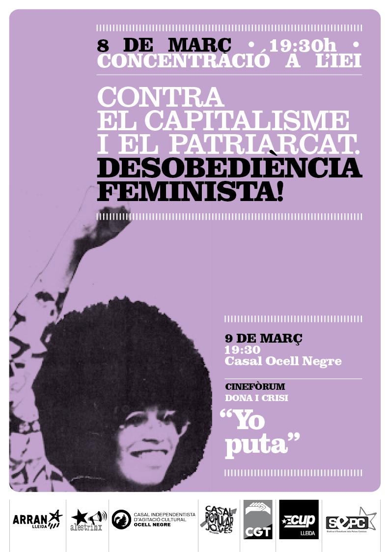 Cartell 8 març Lleida