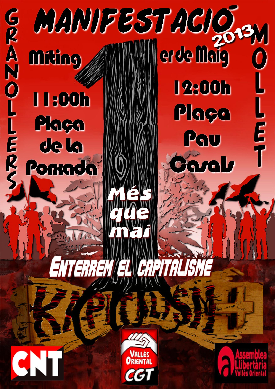 Cartell 1r Maig 2013 Vallès Oriental
