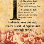 Cartell 1r Maig Berga