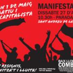 Cartell Manifestació 27A
