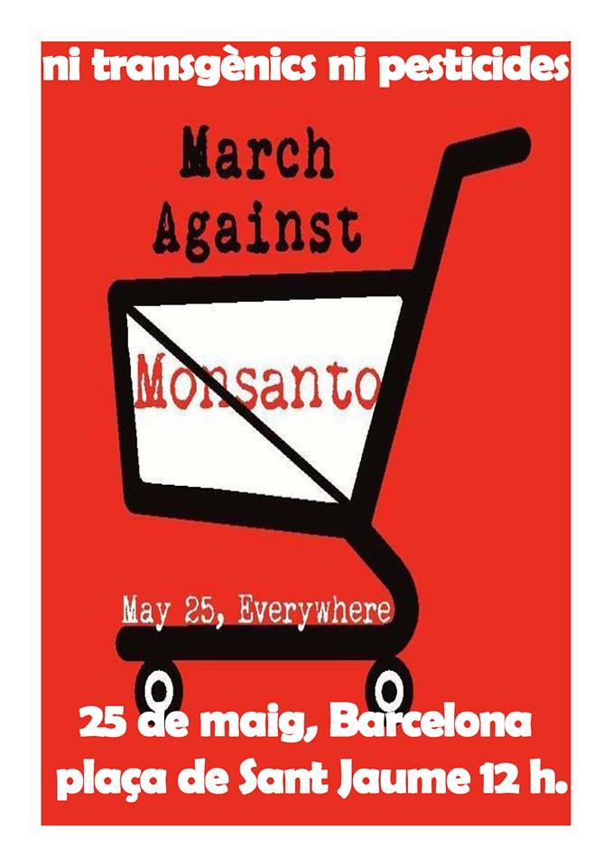 25M Monsanto Barcelona