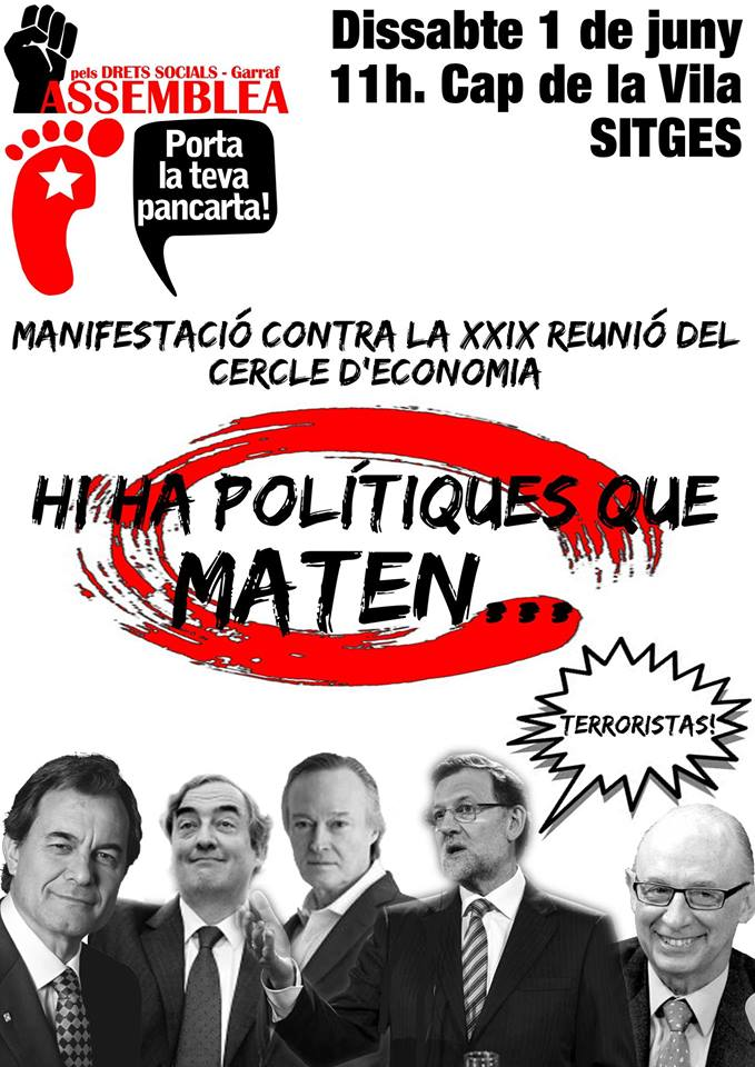 Cartell 1 juny Sitges