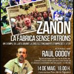 Cartell en català acte públic
