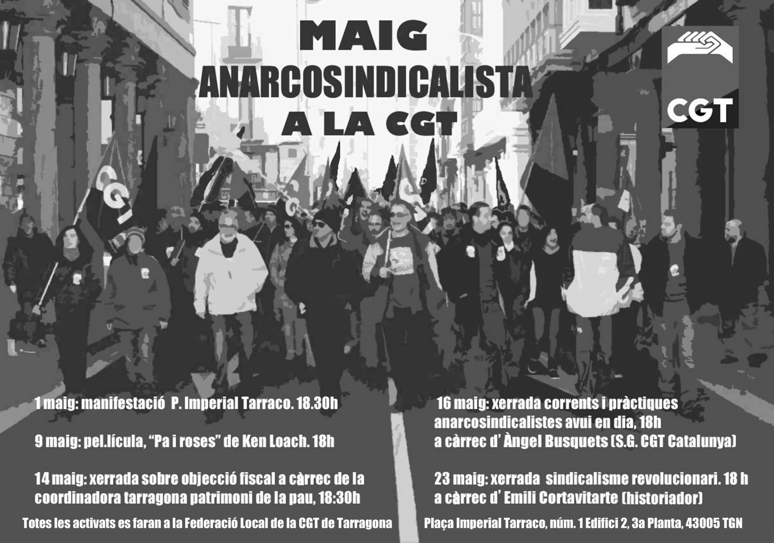 Cartell maig anarcosindicalista