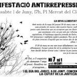 Manifestació 1 de juny