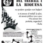 Cartell marxa 29J Tarragona