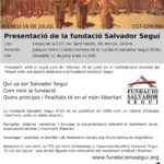 Cartell 15 juny Fundació Salvador Seguí