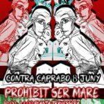 Cartell concentració Caprabo