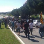 Manifestació a Sant Cugat