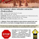 Cartell 8 juny Fracking
