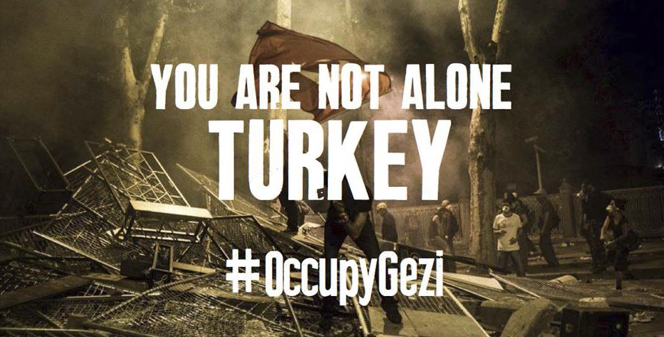 #OccupyGezi