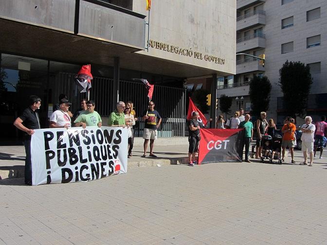 Concentració 29 juliol a Tarragona
