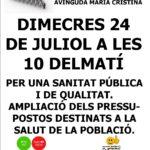 Concentració 24 juliol Tarragona