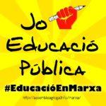 Logo marxa educació