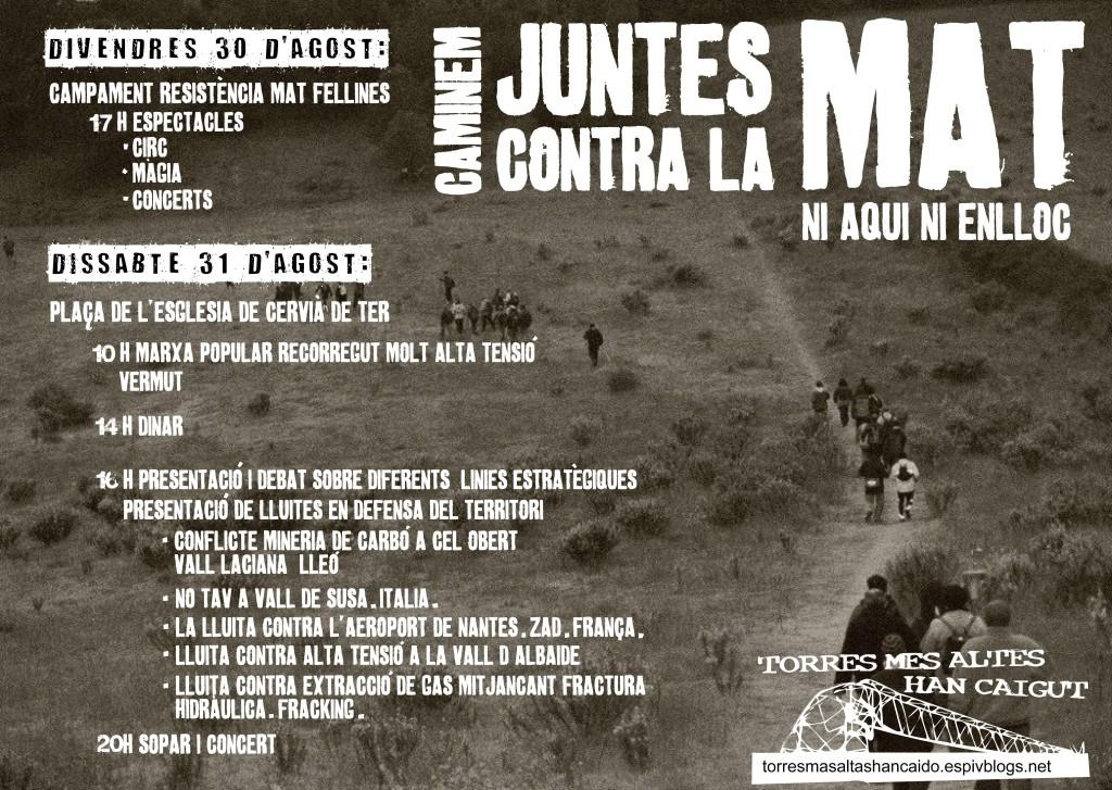Cartell actes 30 i 31 d'agost