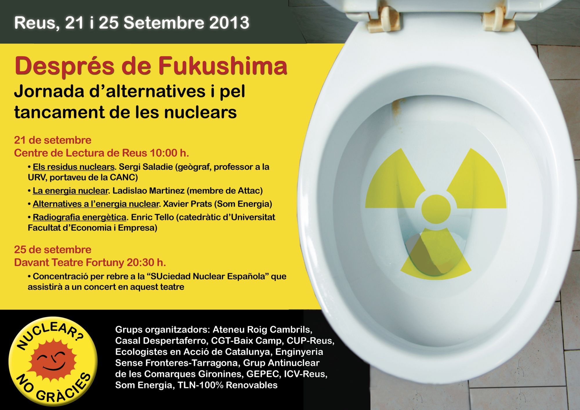 Cartell actes antinuclears Reus