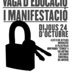 Cartell manifestació Barcelona