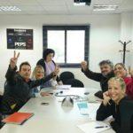 Ocupació de la sala de reunions de Mecaplast per part d'afiliats de la CGT