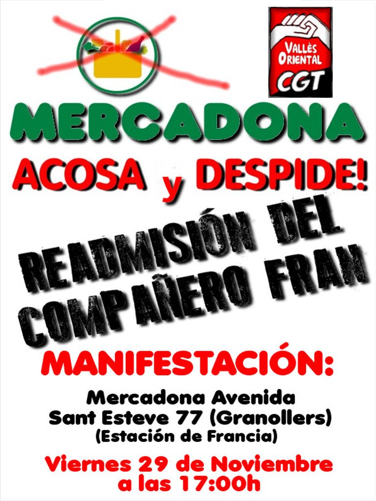 Cartell 29N Granollers