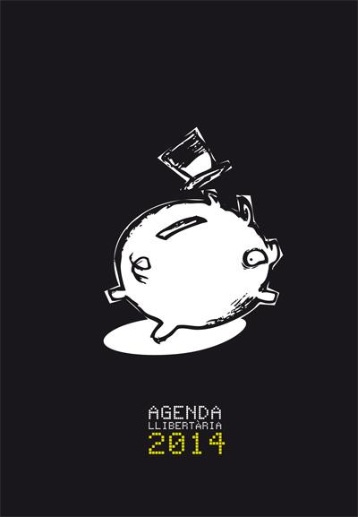 Portada agenda llibertària 2013