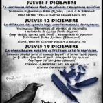 Cartell Jornades Antirepressives Mèxic - Barcelona