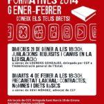Xerrades formatives a la CGT de Girona