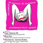 Cartell 7 març xerrada avortament CGT
