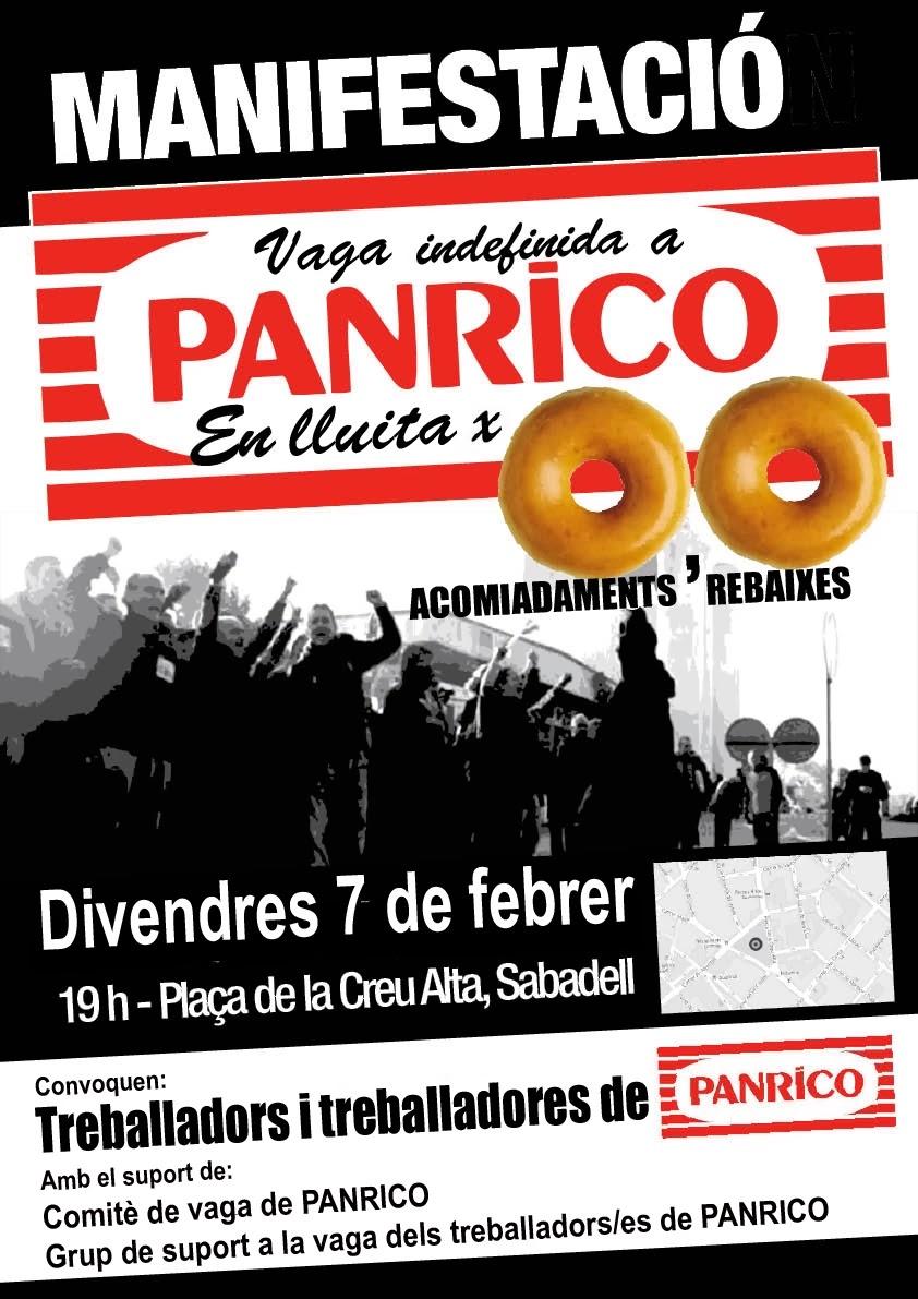 Manifestació 7 febrer Sabadell