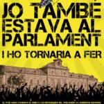 Cartell manifestació 29 març a Barcelona