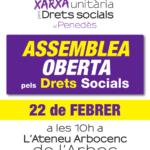 Cartell assemblea 22 febrer